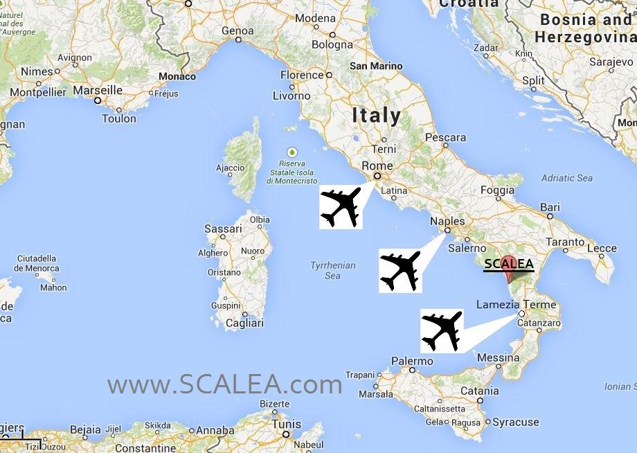 scalea map